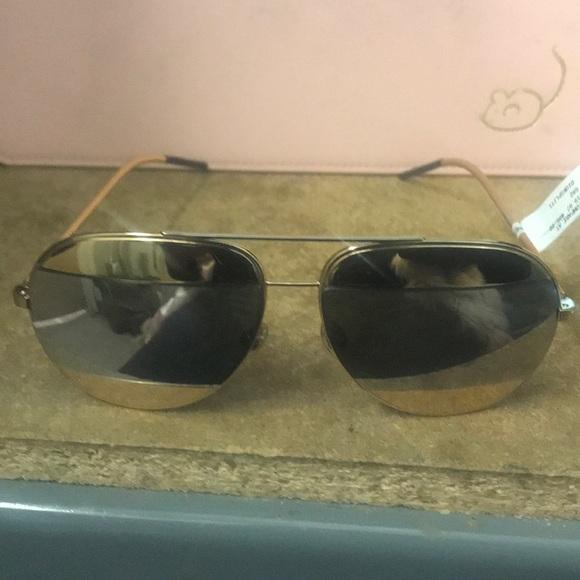 94a658ef4098 Christian Dior gold mirror sunglasses